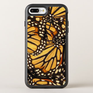 Orange Yellow Black Monarch Butterfly Abstract OtterBox Symmetry iPhone 8 Plus/7 Plus Case