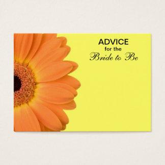 Orange & Yellow Gerber Daisy Advice for the Bride