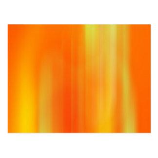 Orange & Yellow Motion Blur: Postcards