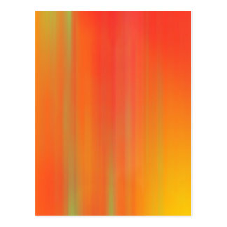 Orange & Yellow Motion Blur: Postcard