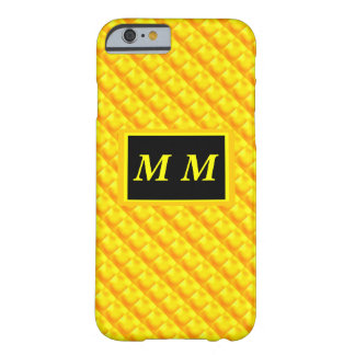 Orange Yellow Repeating Background Barely There iPhone 6 Case
