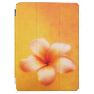 Orange Yellow Tropical Plumeria Hawaiian iPad Air Cover