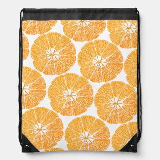 Orange you glad . . . drawstring bag