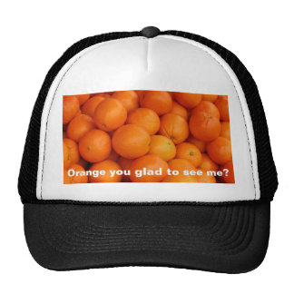 ORANGE YOU GLAD MESH HATS