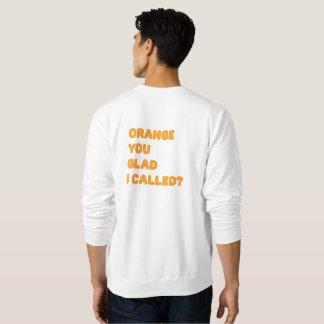 Orange You Glad I Called Sweater