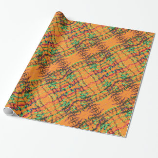 Orange You Glad Wrapping Paper