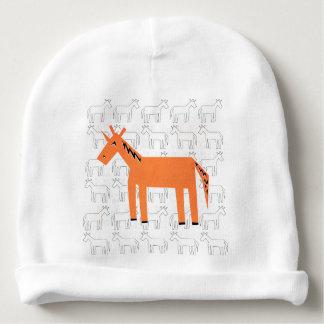 Orange You Unicorn Baby Beanie