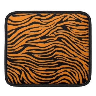 orange zebra stripe ipad sleeve