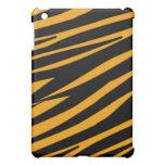 Orange Zebra Stripes Pern  iPad Mini Cases