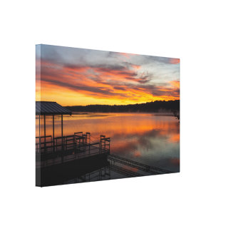 Orangelicious Morning Canvas Print