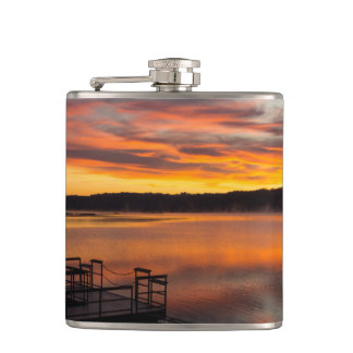 Orangelicious Morning Hip Flask