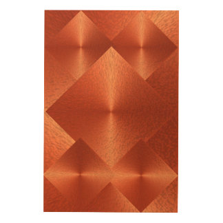 OrangeRed Metallic Spectacular Abstract Picture Wood Wall Decor