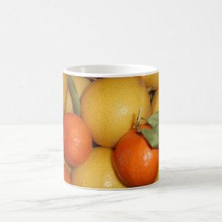 Oranges and Lemons Basic White Mug