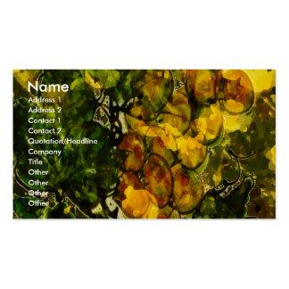 Oranges and Lemons Standard Pack Of Standard Business Cards