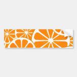 oranges. bumper stickers