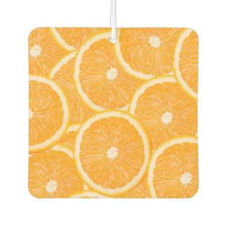 """""""Oranges"""" car air freshner Car Air Freshener"""