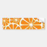 oranges. car bumper sticker