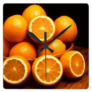 Oranges Fruit Wallclock