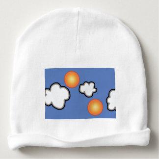 Oranges in The Clouds Custom Baby Cotton Beanie Baby Beanie