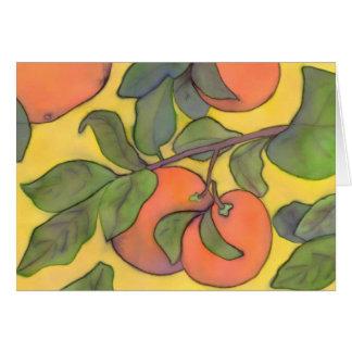 Oranges Notecard