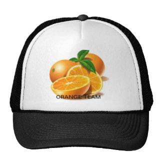 oranges, ORANGE TEAM Mesh Hats