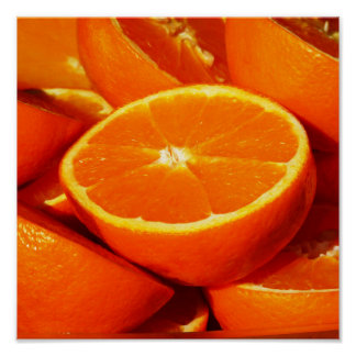 Oranges Photograph Poster