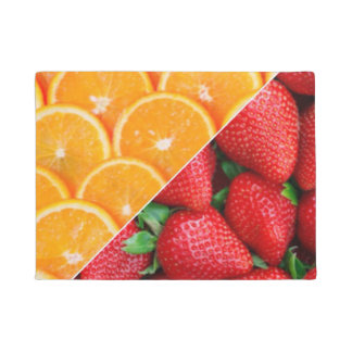 Oranges & Strawberries Collage Doormat