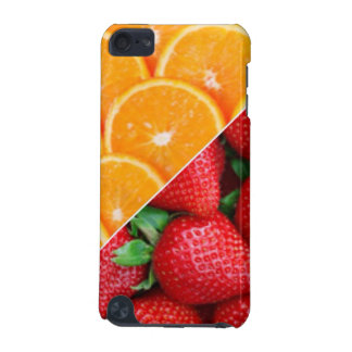 Oranges & Strawberries Collage iPod Touch 5G Covers