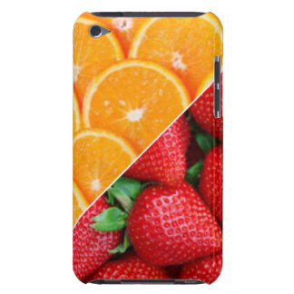 Oranges & Strawberries Collage iPod Touch Covers