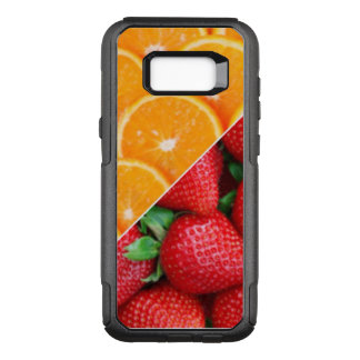 Oranges & Strawberries Collage OtterBox Commuter Samsung Galaxy S8+ Case