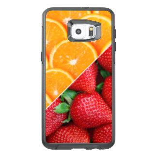 Oranges & Strawberries Collage OtterBox Samsung Galaxy S6 Edge Plus Case