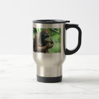 Orangutan Ape Travel Mug