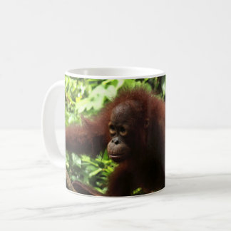 Orangutan Baby Andrena Coffee Mug