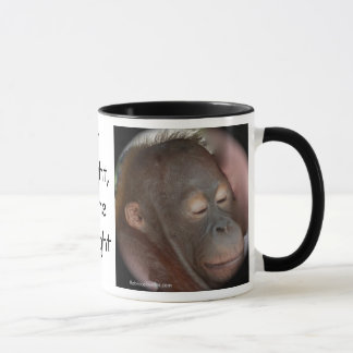 Orangutan Children's Prayer Mug