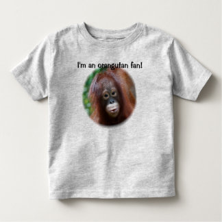 Orangutan Fan Toddler T-Shirt