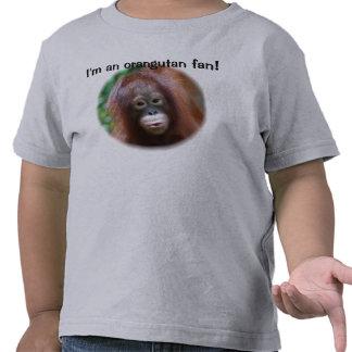 Orangutan Fan T Shirt