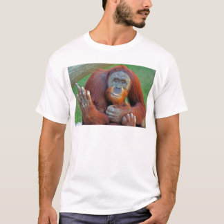 Orangutan Flipping The Bird T-Shirt