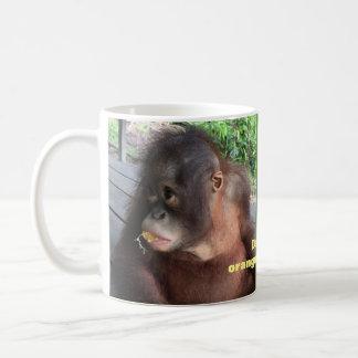 Orangutan Infant  Danielle in Borneo Coffee Mug