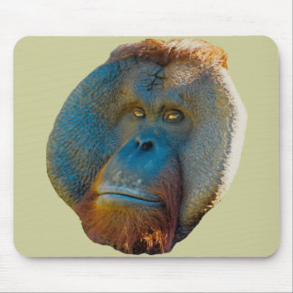 Orangutan Male Mouse Pad