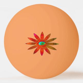 Orangy Eye Flower