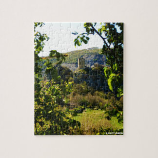 Oratino - la Torre medievale Jigsaw Puzzle