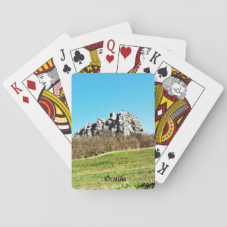 Oratino - la Torre medievale Playing Cards