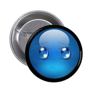 Orb Feelings: Sad 6 Cm Round Badge