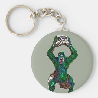 Orc Basic Round Button Key Ring