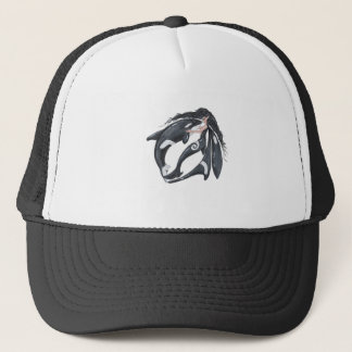 Orca and Fairy Trucker Hat