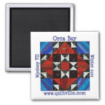 Orca Bay Mystery Quiltville Magnets