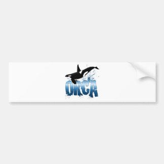 ORCA BUMPER STICKER