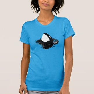 "Orca ""killer whale"" shirt- Blue T-Shirt"