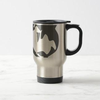 orca killer whale travel mug