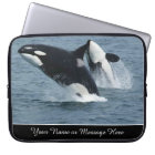 Orca Killer Whales Breaching Personalised Laptop Sleeve